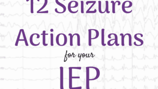 12 Seizure Action Plans for your IEP