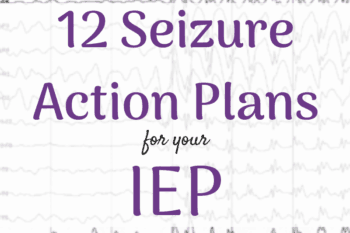 Seizure Action Plan for IEP