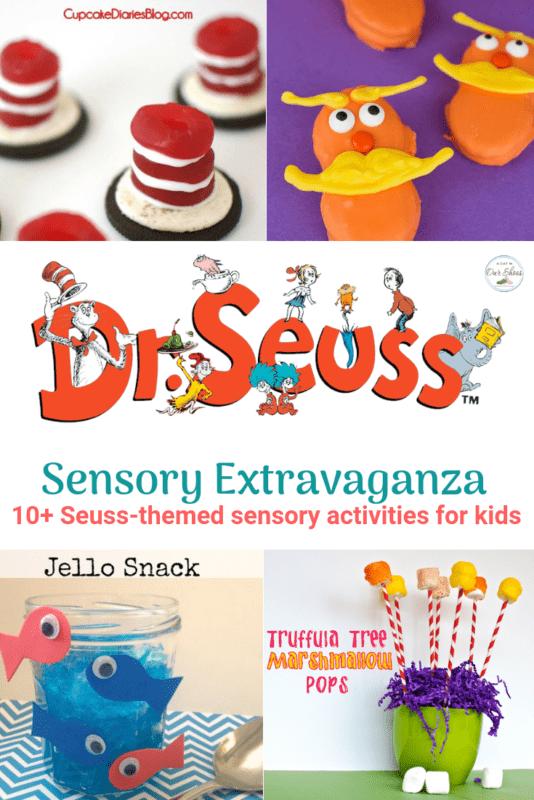Seuss-themed sensory activities for kids