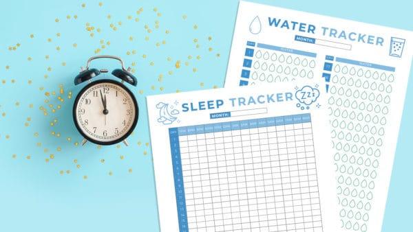 sleep and water tracker