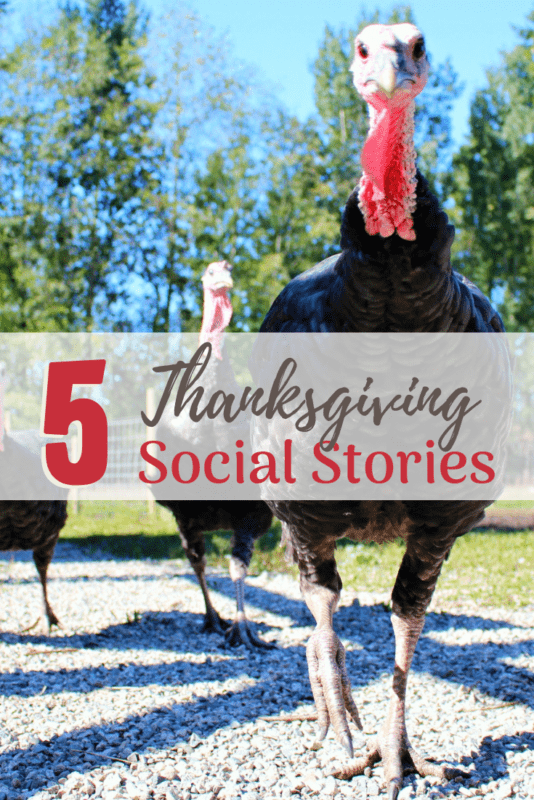 Social Stories Thanksgiving