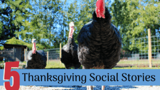 5 Social Stories for Thanksgiving