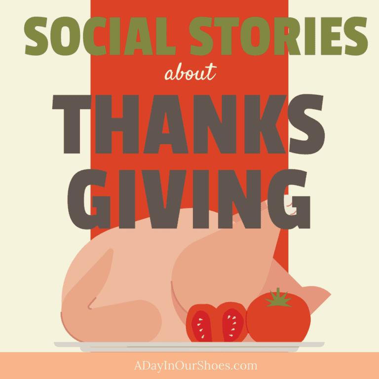 5 Social Stories for Thanksgiving | Thanksgiving Social Skills 🦃