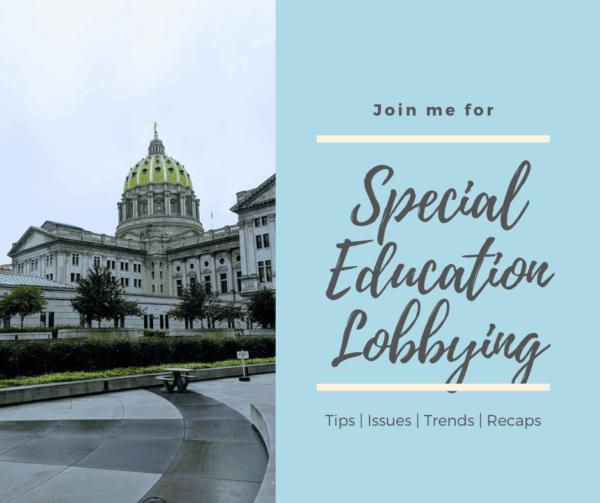 special education lobbying