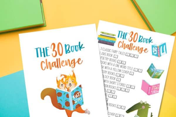 30 book challenge