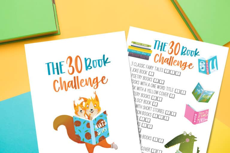 30 Book Challenge for Kids of All Ages | How to Make it Successful