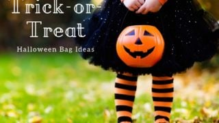20 Cute and Spooky Halloween Trick or Treat Bags, under $5!