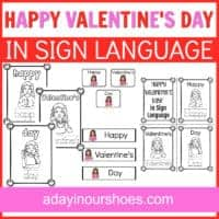valentine's day in sign language