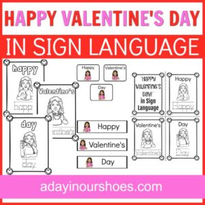valentine's day in sign language