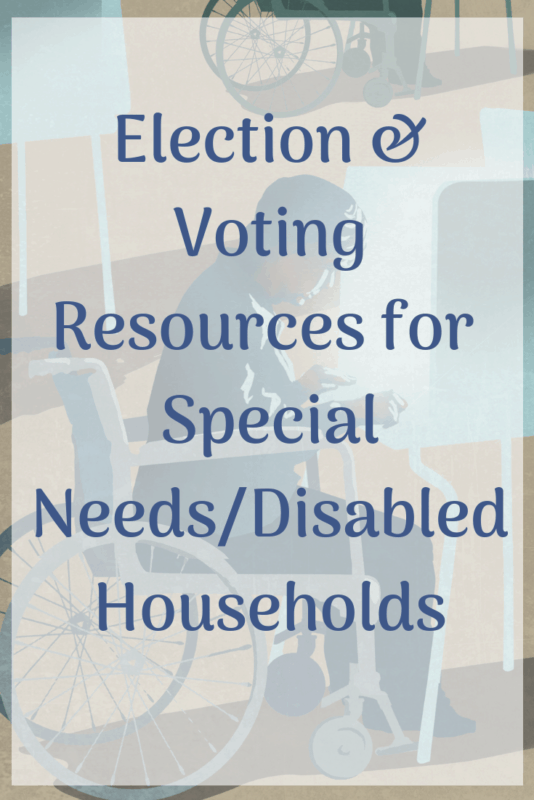 Voting Resources disabilities