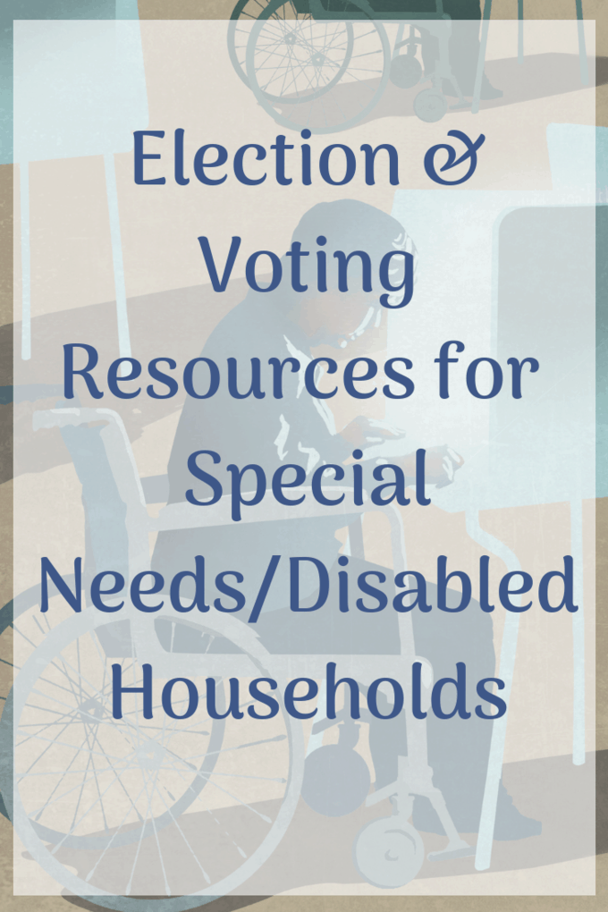 Another Election Day is coming and you have lots of reading to do! Here are some great resources regarding disability and voting. #cripthevote #disability #vote #PWDvote