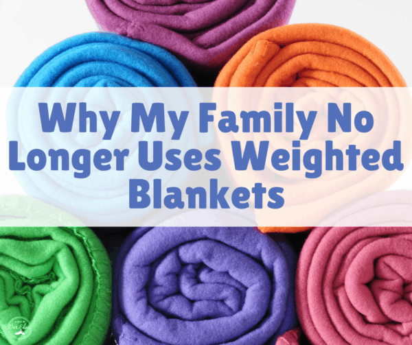 Weighted Blanket causing pain