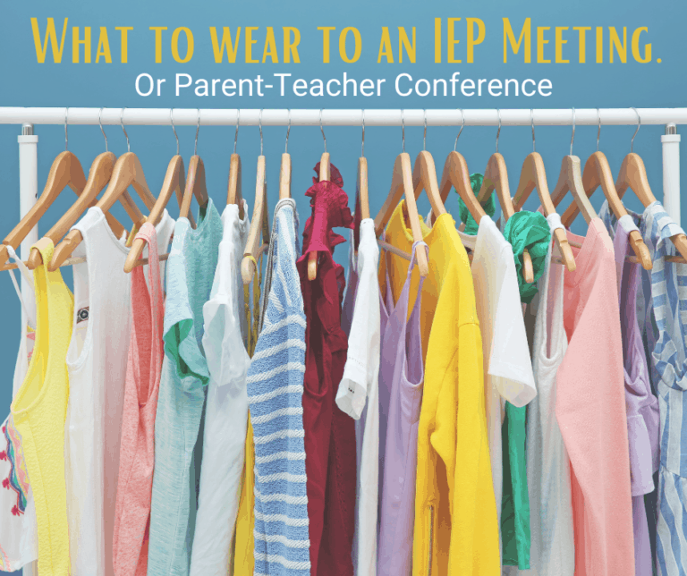 What to Wear to a Parent Teacher Conference or IEP Meeting
