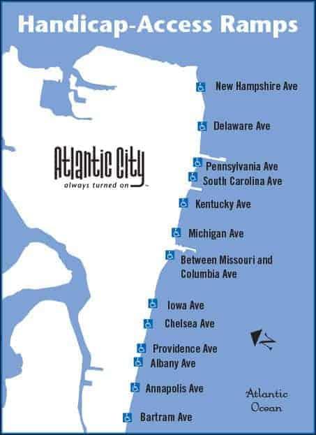printable map of atlantic city nj handicap accessible beaches