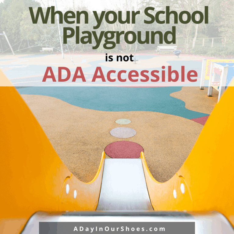 Accessible Playgrounds | What to do if your school playground is not ADA-compliant.