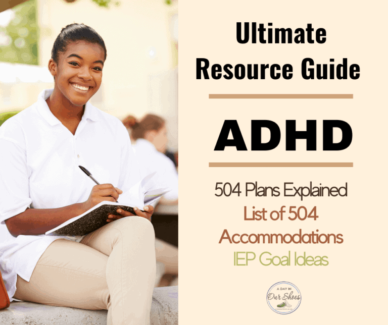 504 Accommodations for ADHD | Or should you get an IEP for ADHD?