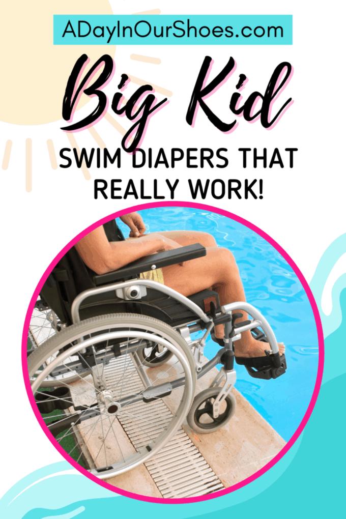 Best Reusable Swim Diaper | Adults | Older Kids