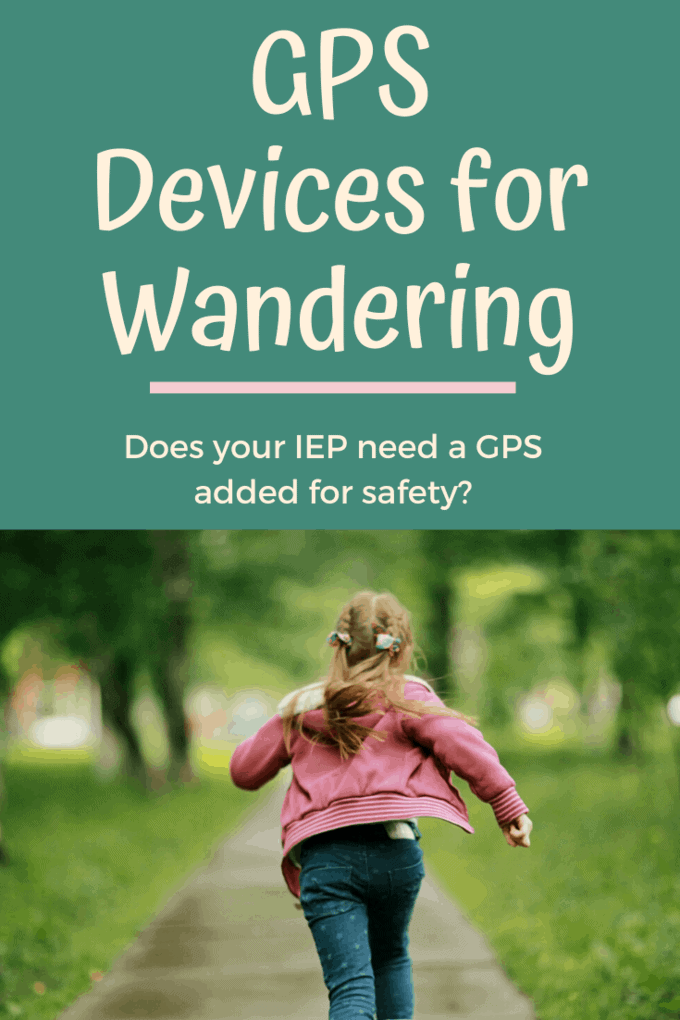 angelsense gps device for wandering with a girl running away from her parents