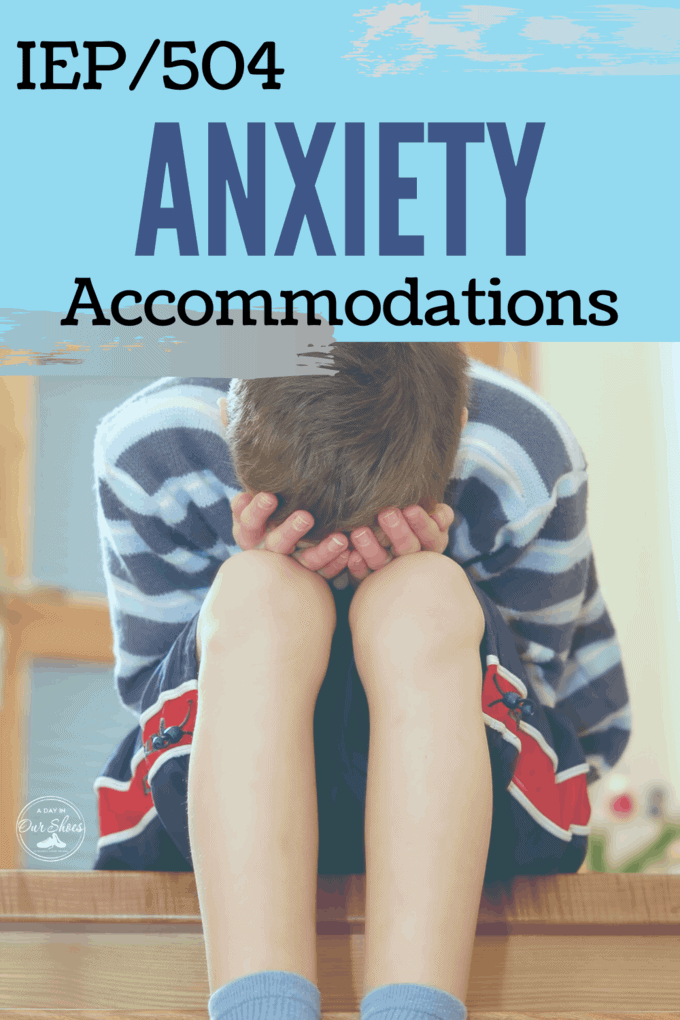 anxiety accommodations