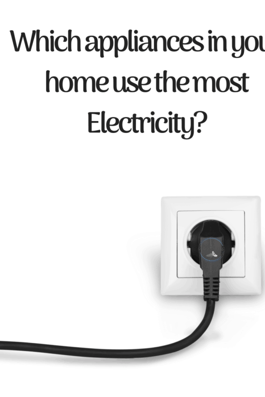 appliance use electricity