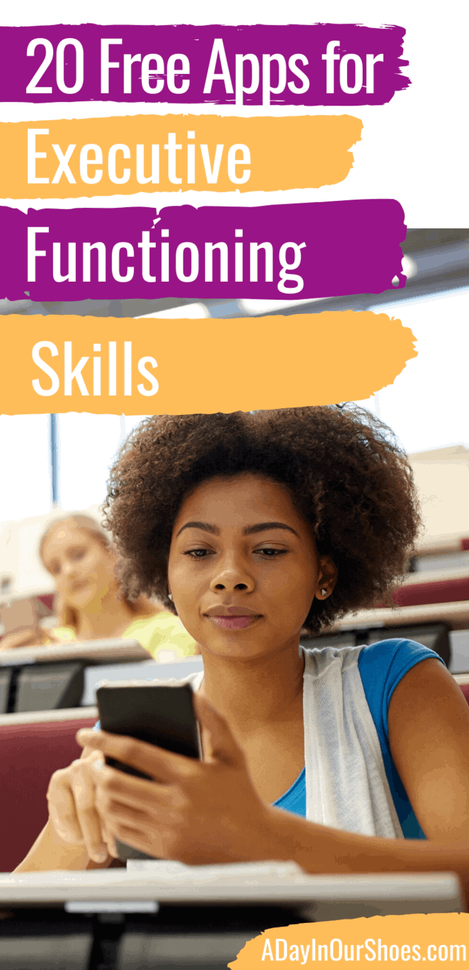 apps for executive functioning