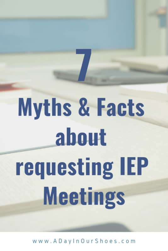 ask for an iep meeting