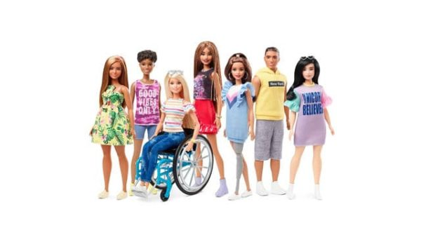 barbie with wheelchair prosthetic