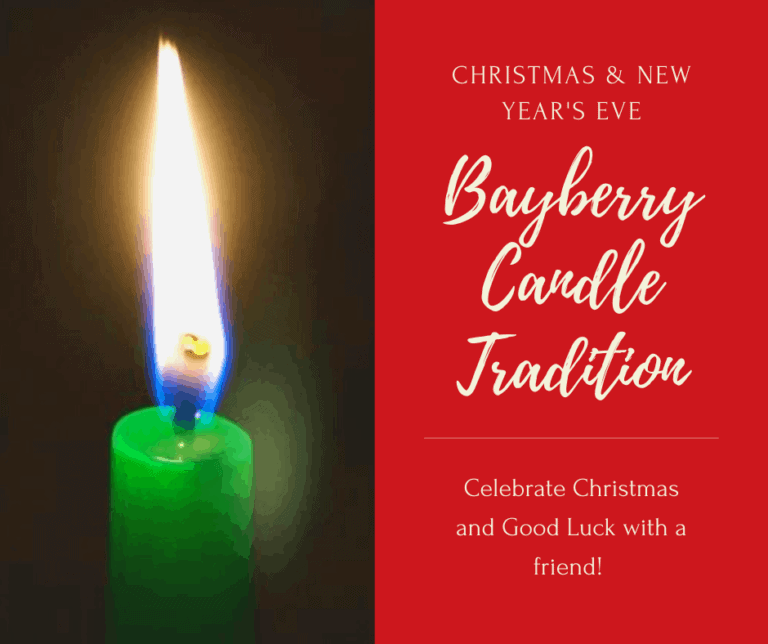 The Bayberry Candle Tradition | Poem | Christmas 🎄 | New Year's Eve 🎉
