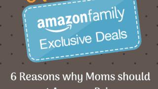 {Amazon Prime} 6 Benefits Moms Should Definitely Use.