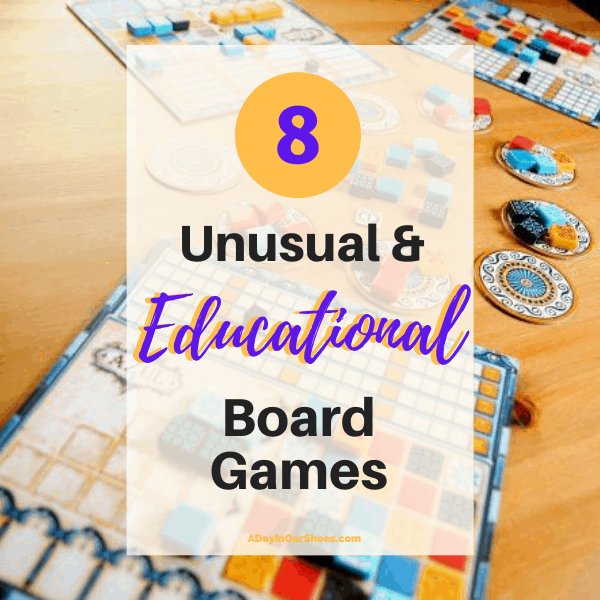 8 Unusual and Educational Board Games for Older Kids