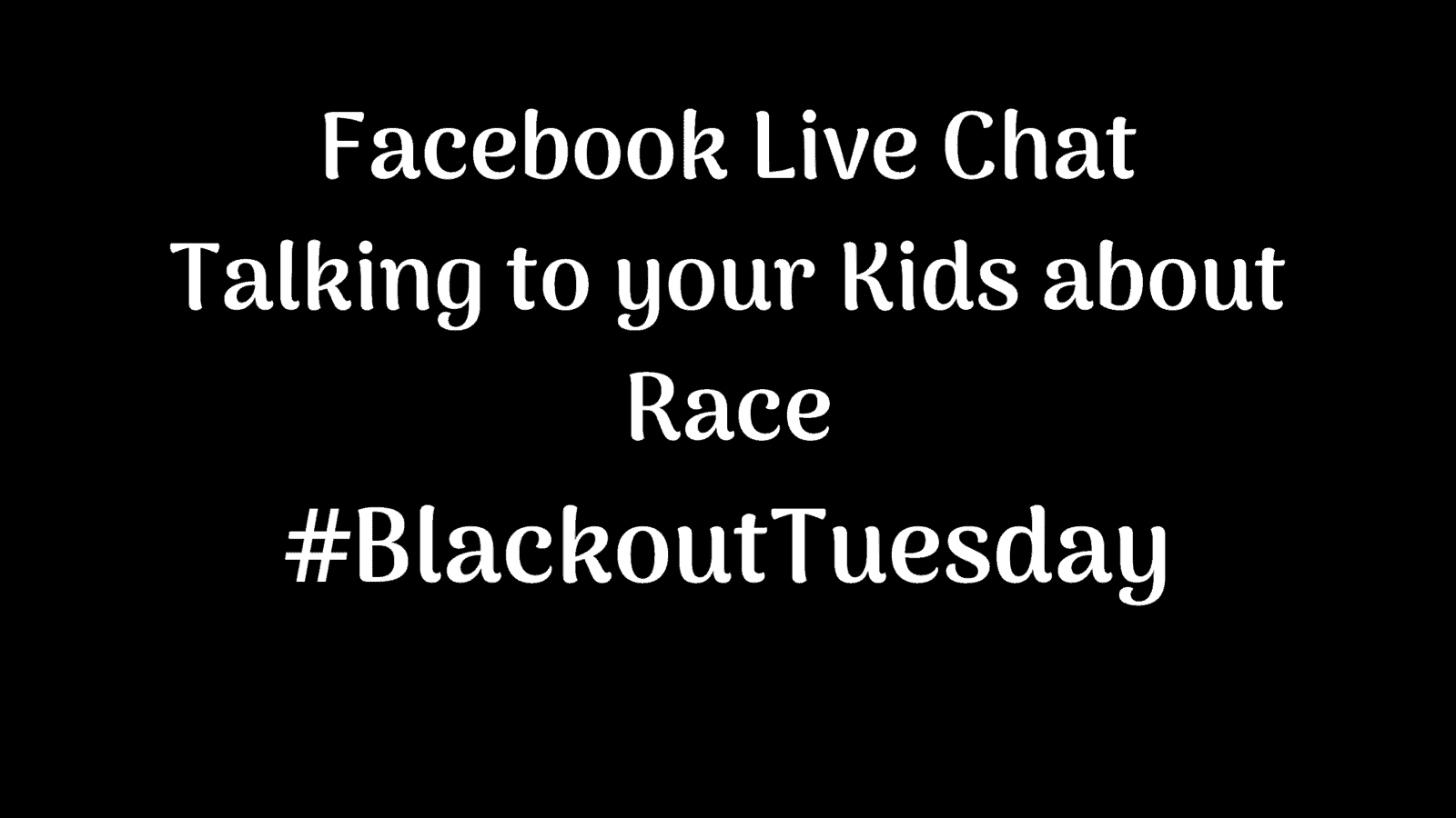 blackout tuesday race chat