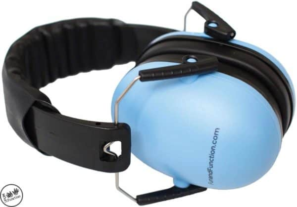 blue sound canceling headphones
