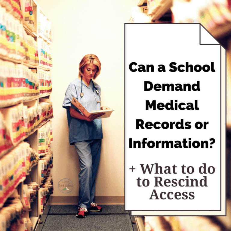 Can a School or IEP Team Demand Access to Medical Records or Information?
