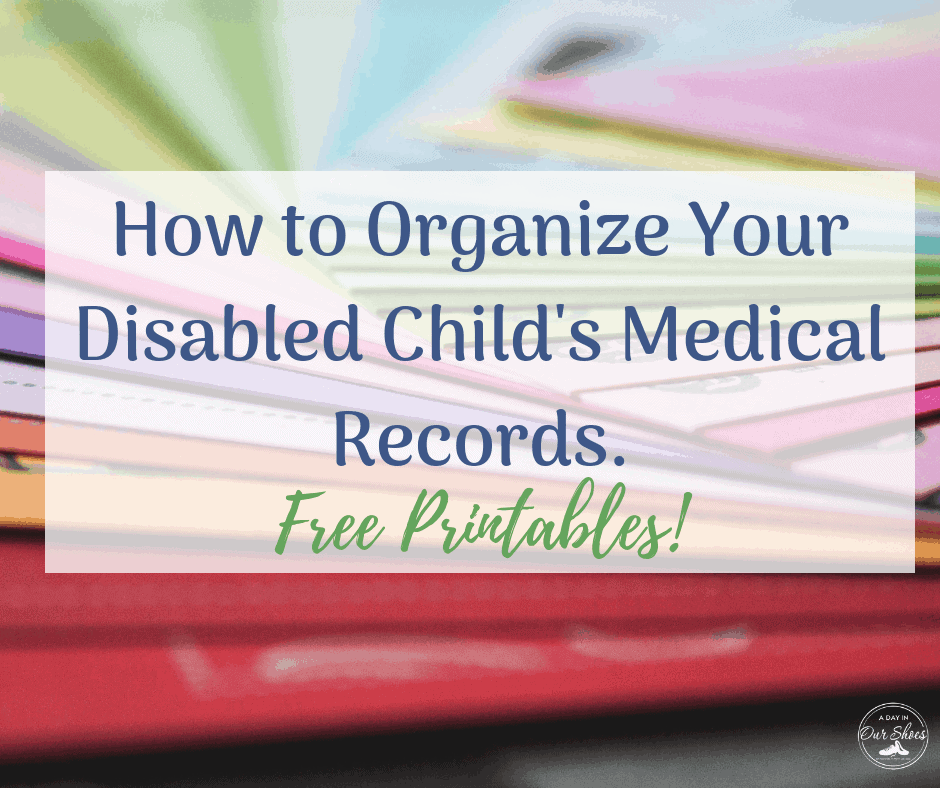 care binders disabled child how to organize printables folders