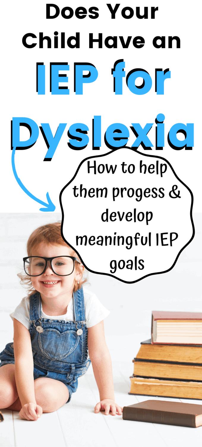 child reading dyslexia