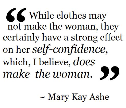 women confidence fashion
