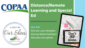 Distance Learning and IEP