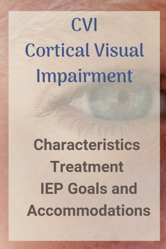 cortical visual impairment cvi