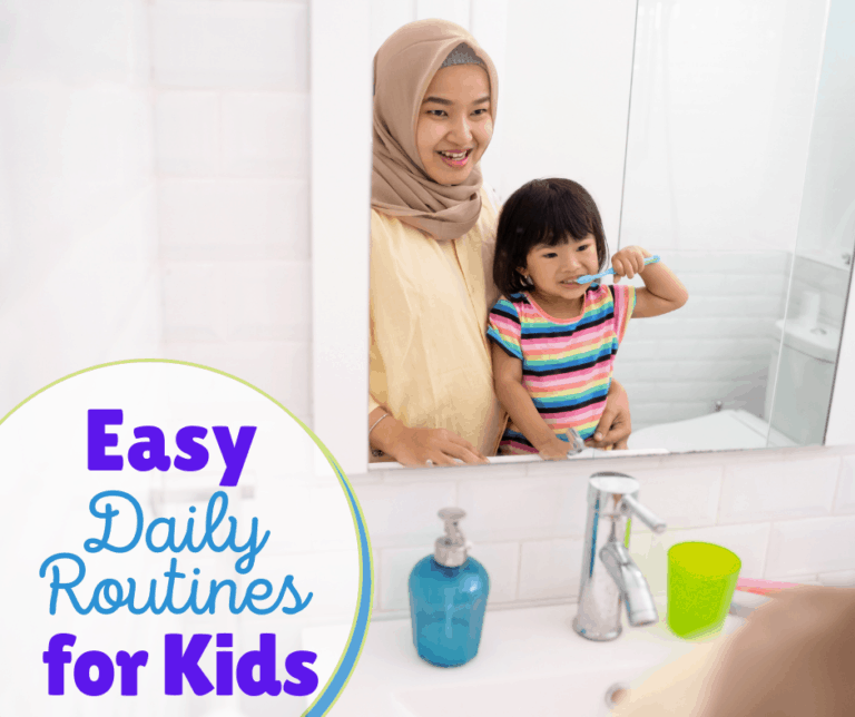 Making a Daily Routine Easy on the Kids and You | 13 Tips to Stay Sane