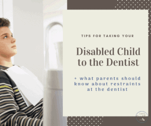 Tips for at the Dentist with your disabled child open teenage sitting in dentist chair waiting