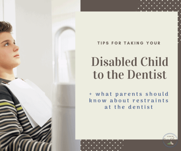 disabled child at dentist