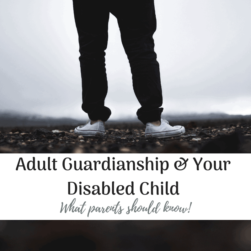 disabled child guardianship what parents should know person standing on rocky ground