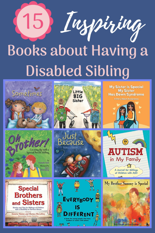 disabled sibling books