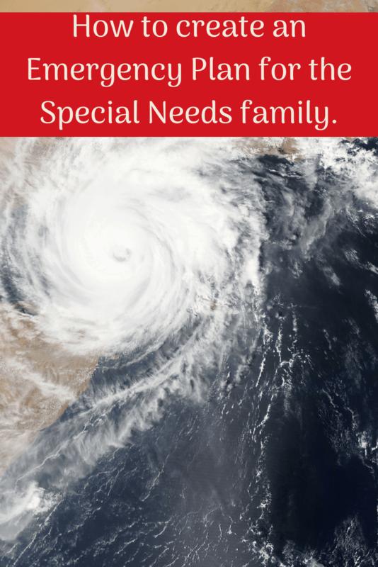disaster emergency plan special needs hurricane weather radar photo