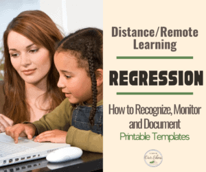distance learning regression
