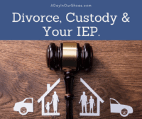 divorce custody and IEP