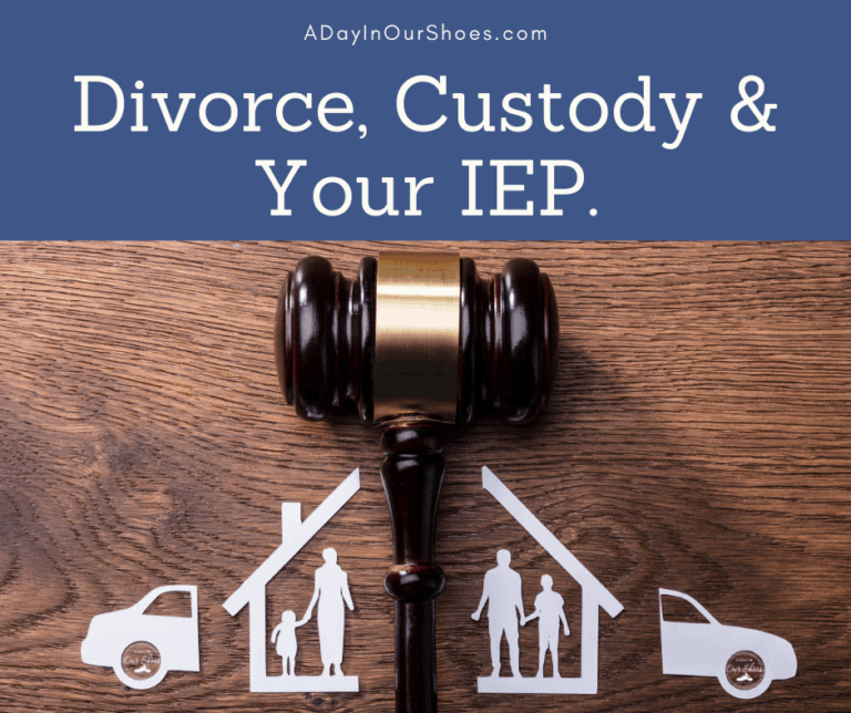 Divorce, Custody and Your IEP | What to do when you and the Ex don't agree.
