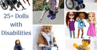 25+ Dolls and Action Figures with Disabilities.