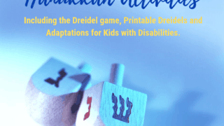 The Dreidel Game + other Hanukkah Recipes and Activities. {free printables!}