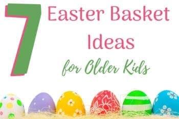 easter basket Older Kids eggs and easter grass